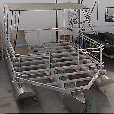 DIY Pontoon Boat Kits