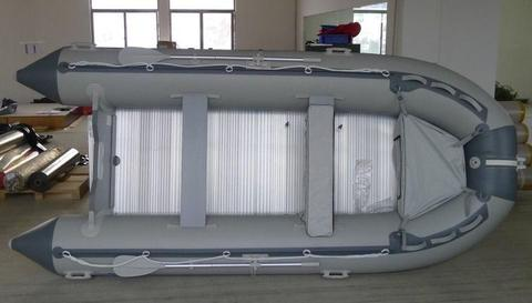 NEW 3.8 meter MK III Aquastrike Inflatable Boats, Aluminium Flooring, Inflatable Keel