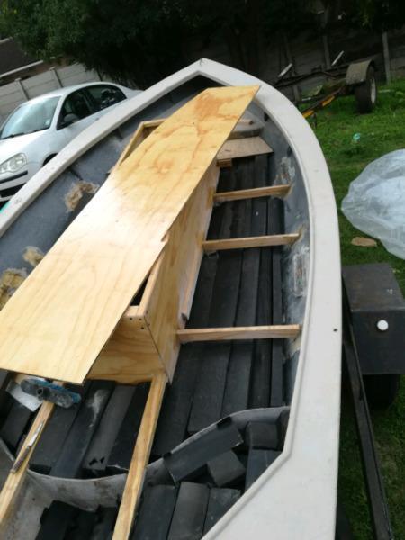 Boat repairs and buoyancy