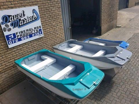 BRAND NEW SPIDER BOATS