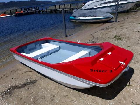 Brand new spider boats!!