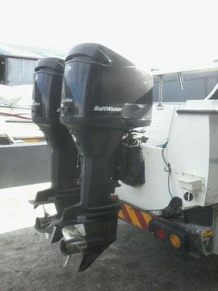 24ft Kei Marine, 2x 150hp Mercury Optimax 2003