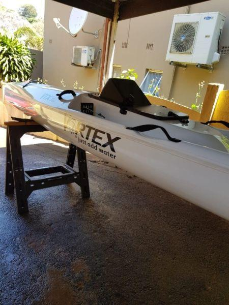Vortex 560 fishing kayak