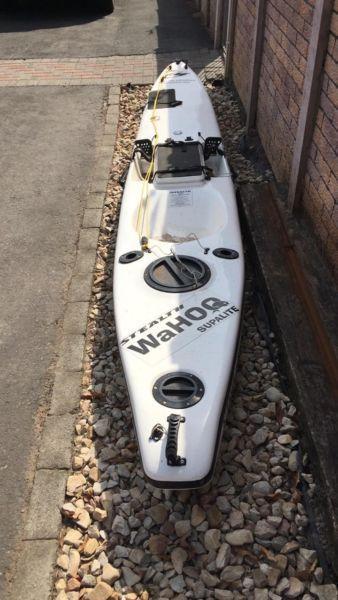 Stealth Wahoo supalite Fishing Kayak