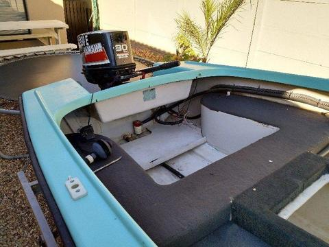 Dinghy 3.8m Fibreglass Factory Manufactured