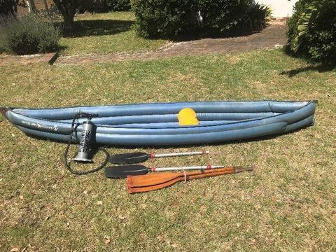 Inflatable Canoe