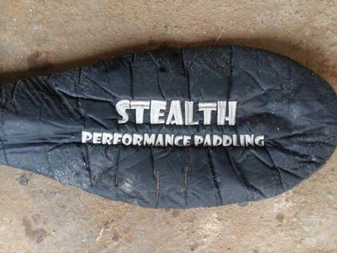 Stealth paddle cover