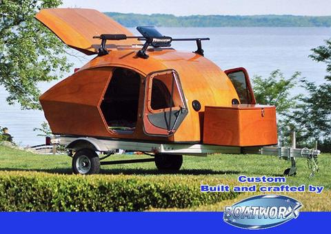 New Boatworx Teardrop. CUSTOM BUILT TO ORDER. An upgrade from a tent