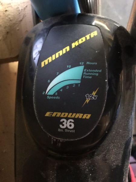 MinnKota 36LBS Electric Motor