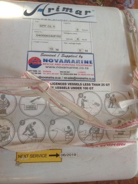 Novamarine - 6 Person - SOLAS E Pack Life Raft