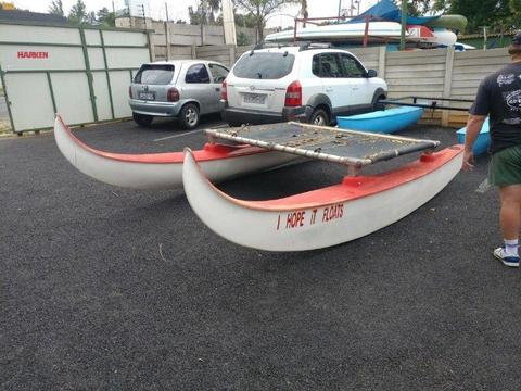 Catamaran Pontoons (Meerkat/Hobbycat)