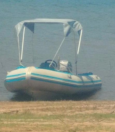 4.6m Rubber duck boat