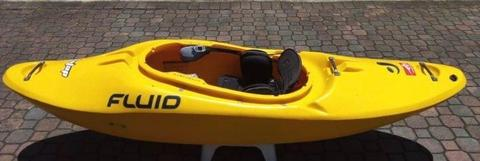 Fluid Whitewater Kayak and Spraydeck