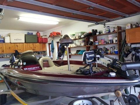 Ranger Bass Boat for sale