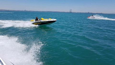 Seadoo jetboat 215hp sportster 1500 supercharged