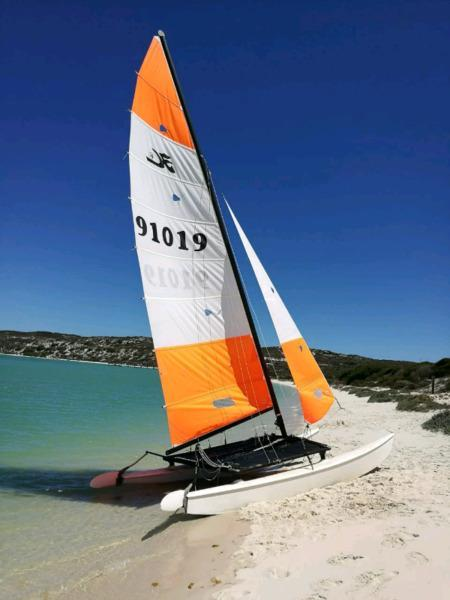 16 foot hobie cat