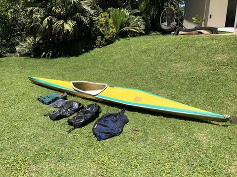 K1 Canoe and accessories