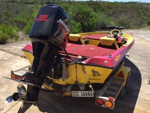 Competition Ready Bass Boat