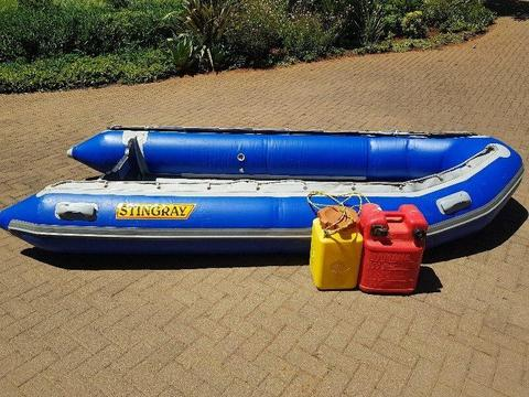 Inflatable Rubber Duck Boat