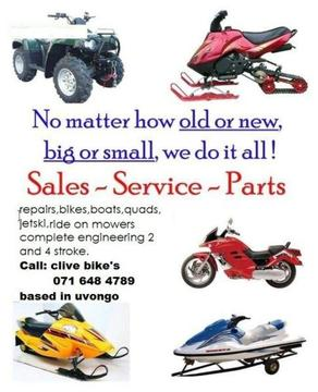 outboard engineering for boats and jetski parts @clives bikes imports