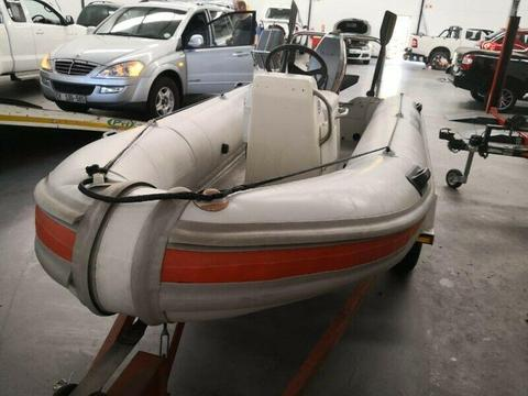 3.9m Rubber Duck with Mariner 30hp Motor R19500