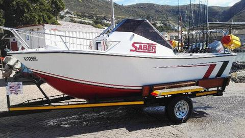 BILLFISH 17Ft Skiboat