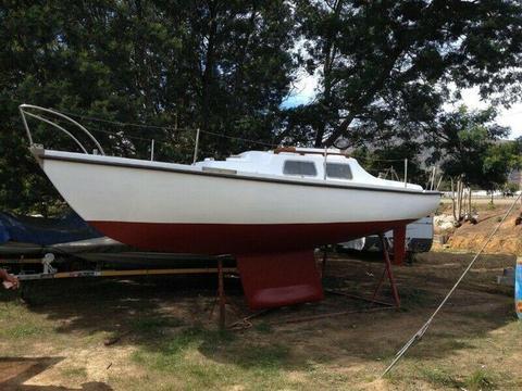 Kelkiewyn sailboat