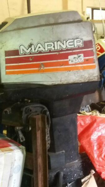 Suzuki and Mariner Boat engine