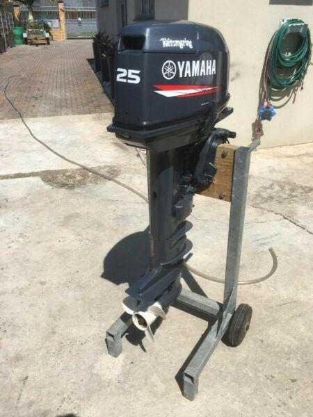 25HP Yamaha Outboard for Sale