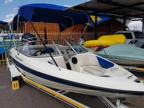 Sunseeker 1700, 115Hp Mercury 4 Stroke