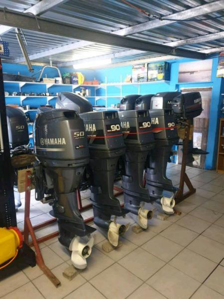 Used outboard engins