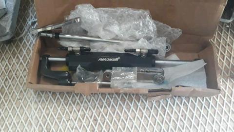 Mercury hydraulic power steering