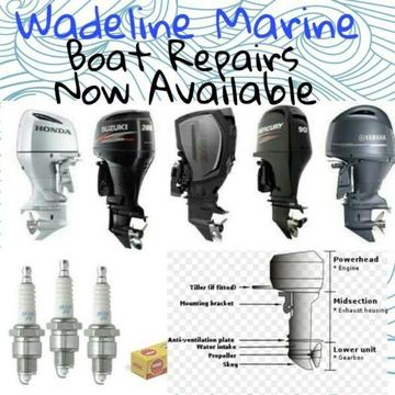 COME TO WADELINE MARINE FOR ALL YOUR BOATING & MOTOR REPAIRS